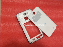 White /Gray Original for  Galaxy Note 2 N7100 full housing cover case replacement +buttons Free shipping(China (Mainland))