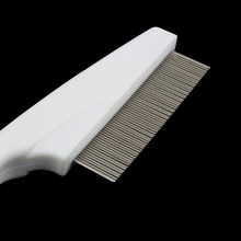 1pcs Pet Dog Hair Flea Comb Stainless Pin Dog Cat Grooming Brush Comb Clean Tool Hot Worldwide Store(China (Mainland))