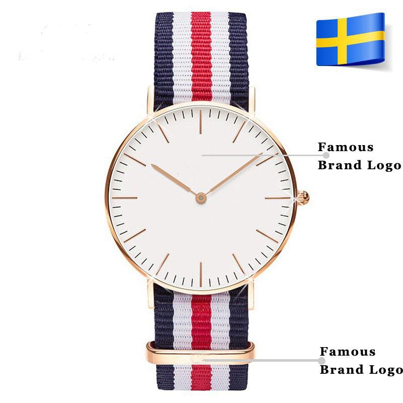 2015 Newest Brand Casual Watch Men Women Leather Sports Military Quartz Wristwatch Clock hombre 40mm