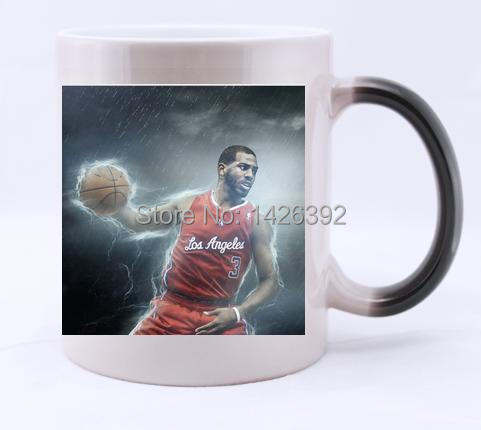 LA Clippers chris paul image surrounded white Mug Ceramic Coffee Milk,toothbrush cup(China (Mainland))
