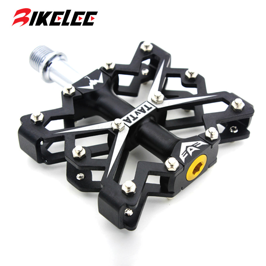 2015 hot new colored bike pedals Aluminum Mountain road Pedal Bike Bearing Pedal Skid Bike Bicycle Cycling pedales bicicleta mtb