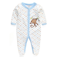 100% Cotton Baby Rompers Wear Jumpsuits Kids New Born Baby Boy Girl Clothes Infant Clothing