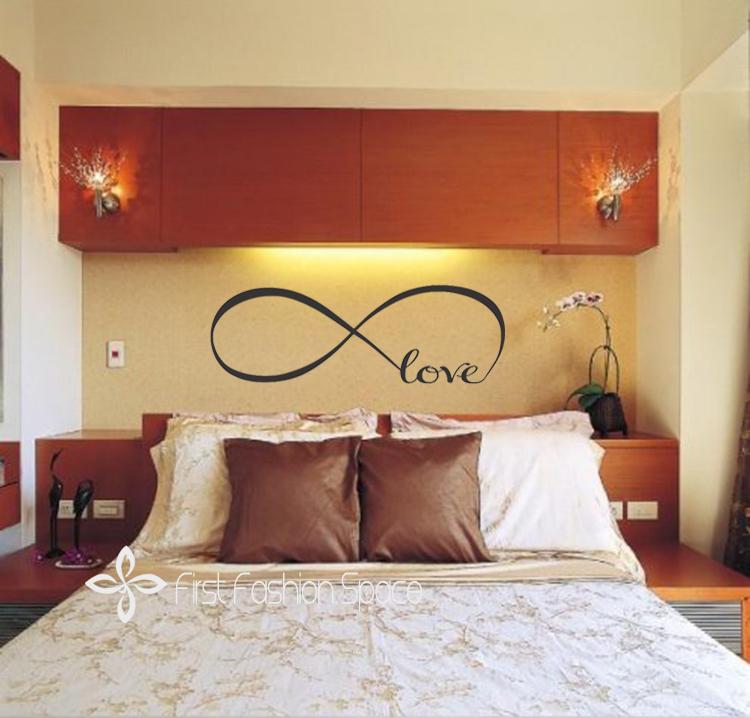 Acheter personnalis infinity symbole for Stickers chambre love