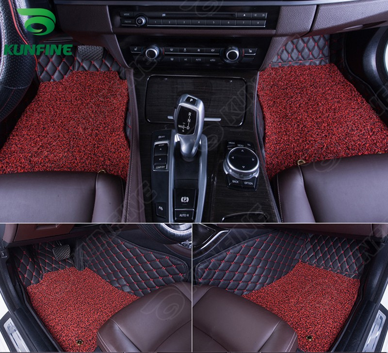 Top Quality 3D car floor mat for Toyota CAMRY foot mat car footpad with One Layer Thermosol coil Pad 4colors Left hand driver(China (Mainland))