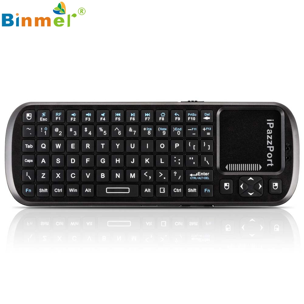 Beautiful Gift New KP-810-19 Mini wireless Keyboard Mouse Touchpad for PC Laptop Tablet Wholesale price Aug23(China (Mainland))