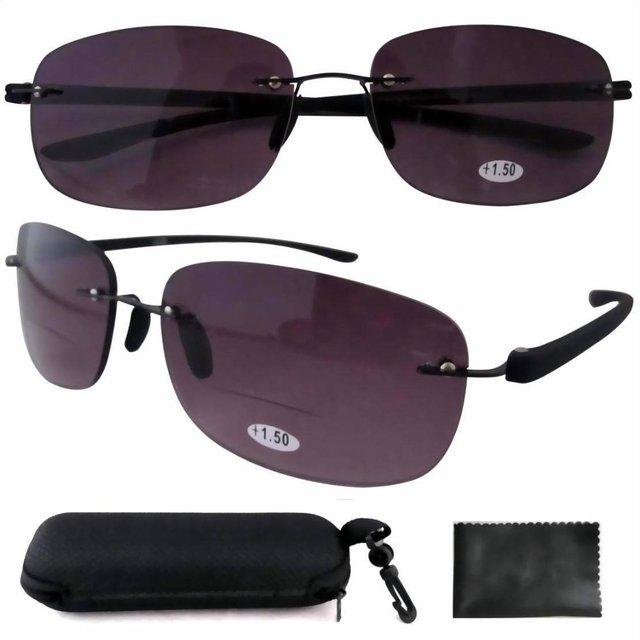 Sr14002 серый объектив запатентованная вс карт-ридеры полуободковые бифокальные очки ...