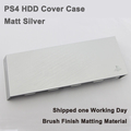 Faceplate HDD Bay Hard Disc Drive Cover Case Brush Finish Hairline Finish for Playstation 4 PS4