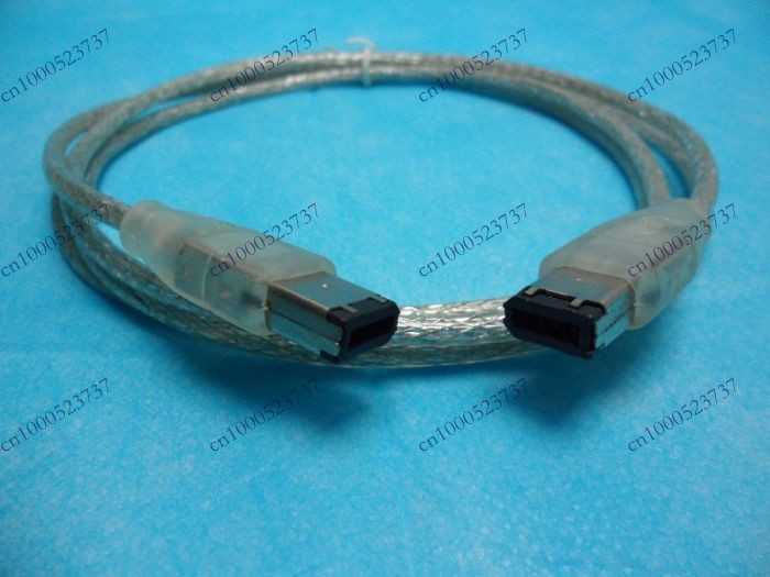 Free Shipping+50pcs/lot+1.5M Firewire IEEE 1394 6 Pin Male to 6Pin Convertor Cable(China (Mainland))