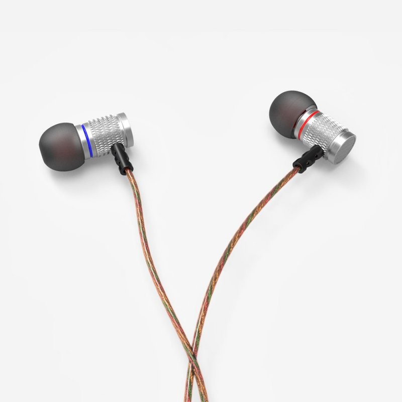 KZ EDR2 Bass In Ear Earphone Metal Clear Sound Music Wired Hifi Headset Enthusiast Special Use Earburd