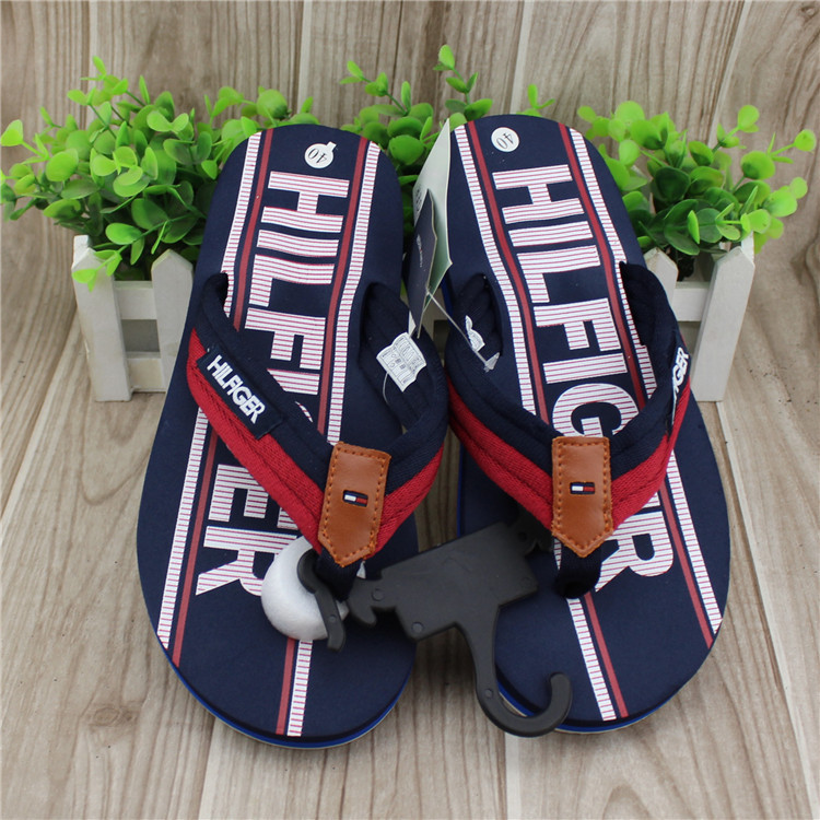 2015 free shipping new large sizes men fashion slippers rubber sole casual men flip flops Casual shoes shoes printing letters(China (Mainland))