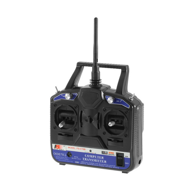 FLY SKY 2.4G FS-CT6B 6 CH Channel Radio Model RC Transmitter Receiver Control(China (Mainland))