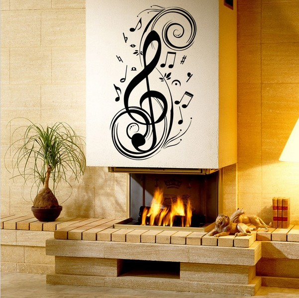 music virus wall decor- Say Quote Word Lettering Art Vinyl Sticker Decal Home Decor Words(China (Mainland))