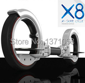 hot sale foldable x8 skateboard x-skate cycle x8 scooter roller skates 2 wheel self balance scooters(China (Mainland))