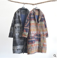 New product release in the winter of 2015, the original design loose big yards of female wool coat