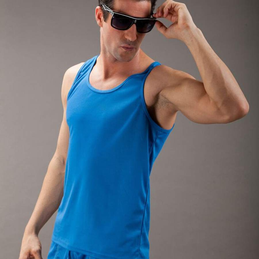 cotton mens fitness gym tank top men sleeveless tops male bodybuilding sport undershirt man quick dry breathable vest - EAST WEST LIFE store