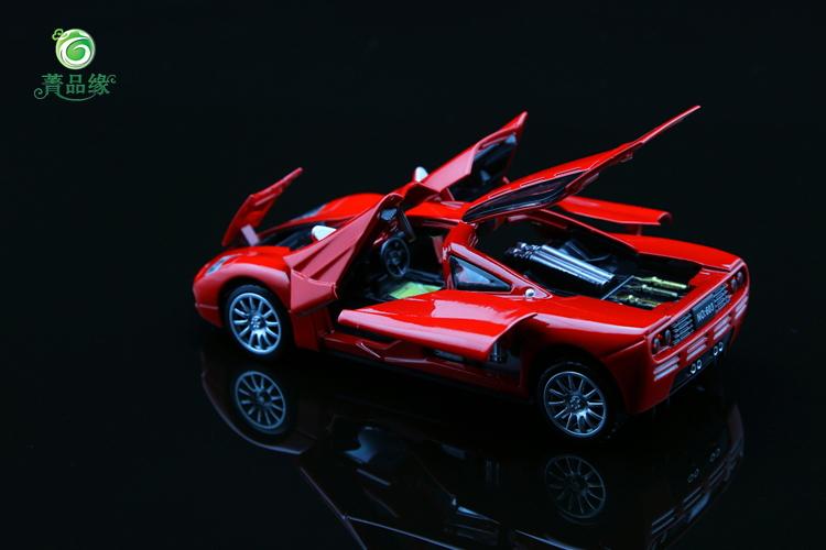 1:32 McLaren F1 McLaren PULL BACK six door alloy car models / sound and light toy car(China (Mainland))