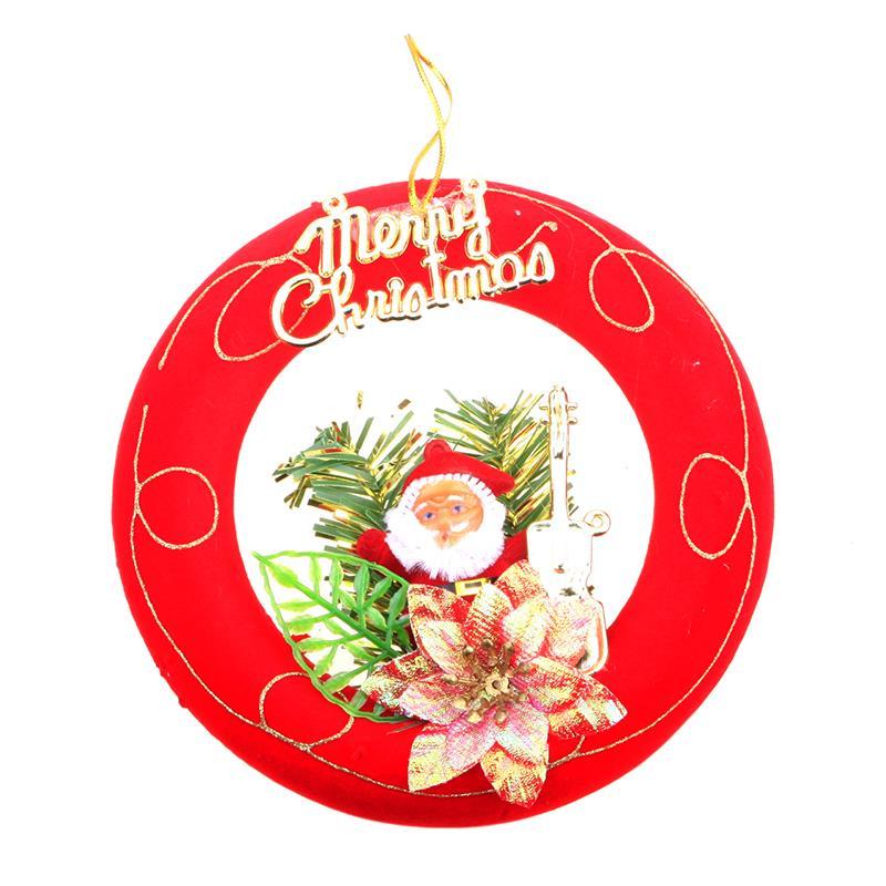 Hot Sale Xmas Christmas Tree Santa Claus Hanging Drop Home Decoration Ornament Cute #78432(China (Mainland))