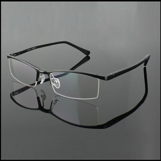 Eyeglass Frame Half Rim : Aliexpress.com : Buy 2036 Aluminum magnesium alloy Mens ...
