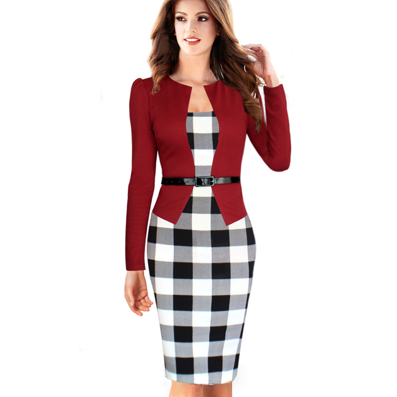 Popular Office Dress and Blazer Suits in Women-Buy Cheap Office ...