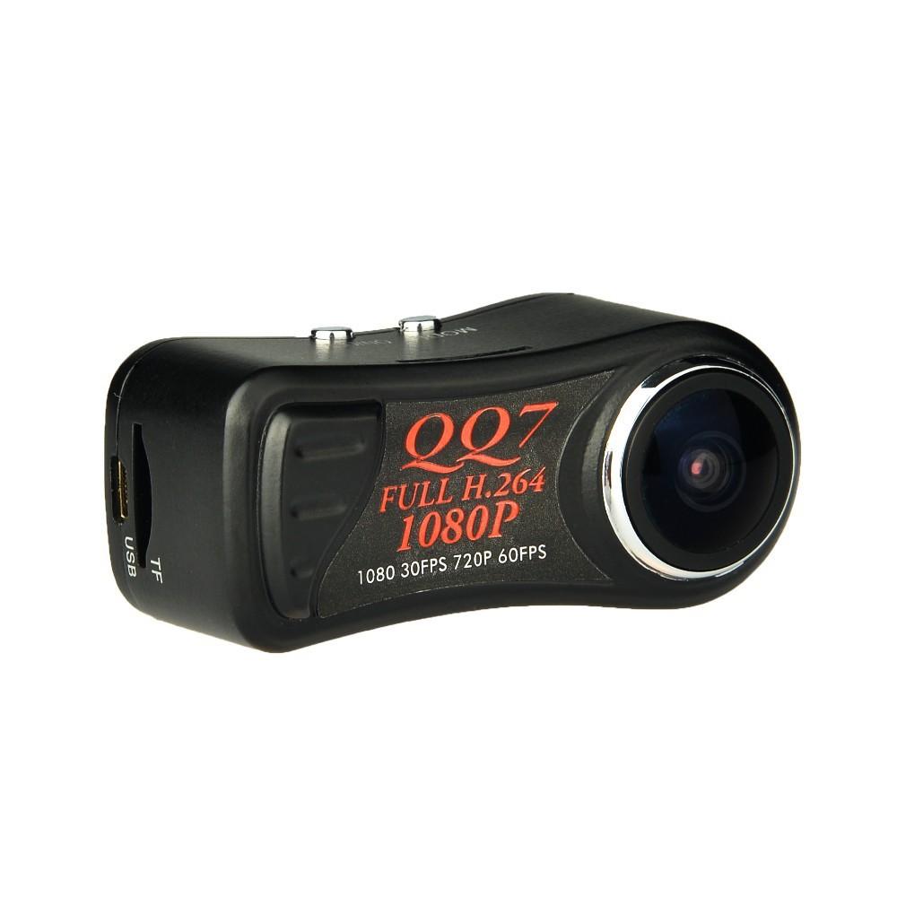Free shipping 2pcs/ Lot New QQ7 FULL HD 1080P Smallest Camera Mini DVR H.264 5.0MP Mini Camcorder+185 Wide Angle digital camera(China (Mainland))