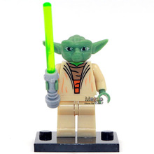 PG633 Darth Vader With Red Lightsaber Green Boba Fett Princess Leia Star Wars Minifigures Building Block Children Gift Toy(China (Mainland))