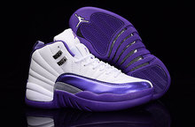 New 2016 women air jordan 12 shoes retro xii hyper violet gym red ovos master with original box for sale woman size 36 to 40(China (Mainland))