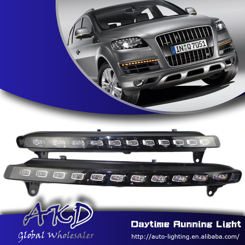 One-Stop Shopping for Audi Q7 LED DRL 2006-2010 Q7 DRL LED Daytime Running Light Fog Lamp Automotive Accessories(China (Mainland))