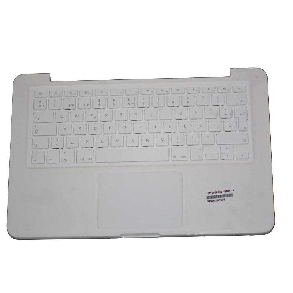 100% New Genuine for MacBook 13 A1342 2009 2010 Topcase with Keyboard &amp; touchpad Spanish Layout <br><br>Aliexpress