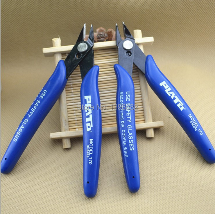 2pcs/lot Jewelry Electrical Wire Cable Cutters Cutting Side Snips Flush Pliers Hand Tools Drop Shipping(China (Mainland))