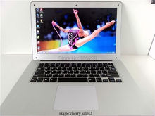 14 inch Ultrabook Notebook Laptop Computer PC Windows 7 Intel Atom D2500 1.6Ghz 4GB RAM 500GB ROM DHL Free Shipping