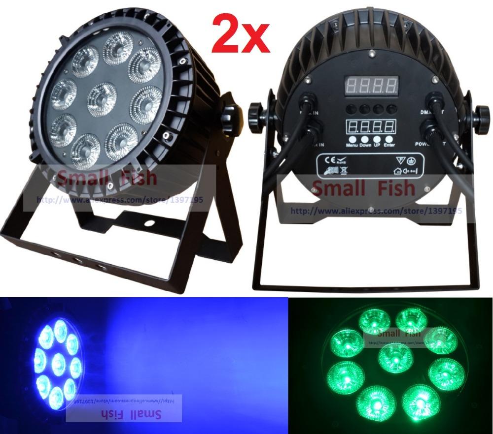 Hot Sale Led Par Light Waterproof 9X10W RGBW Quad Color