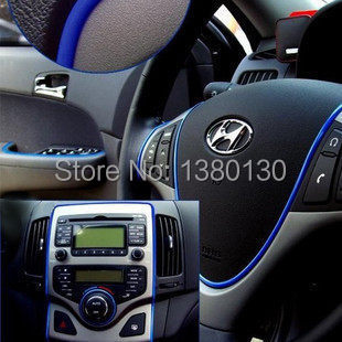 Гаджет  6m auto decoration sticker thread cute car interior decal decorate on for opel ford focus 2014 mazda kia vw None Автомобили и Мотоциклы