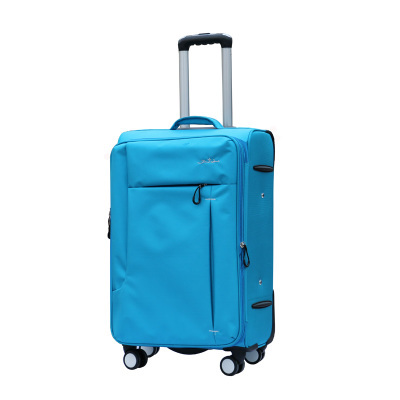 Cloth universal wheels travel bag soft box commercial trolley luggage password female male
