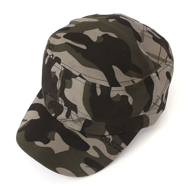 Hot Selling 5 Colors Unisex Fashionable Men Women Baseball Caps Sun Visor Army Camouflage Military Soldier Combat Hat Sport Cap(China (Mainland))