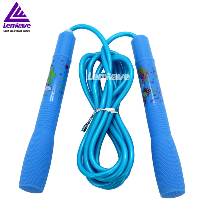 China's popular cartoon children skipping rope /Boys and girls can play rope skipping /2.5 meters long speed cable jump rope(China (Mainland))
