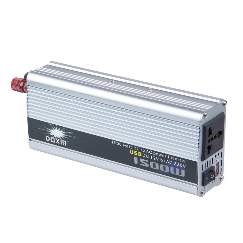 free shipping modified sine wave car power inverter 12v 220v 1500w(China (Mainland))
