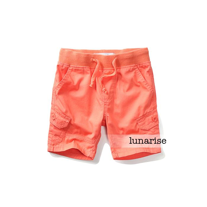 Childrens clothing 2015 summer male child 100% super-soft cotton capris child capris baby elastic shorts<br><br>Aliexpress