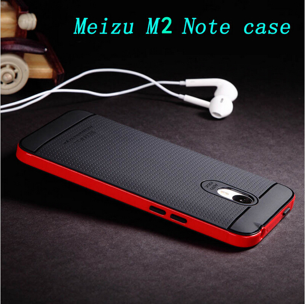 2015 New product Meizu m2 note case 5.5 inch High quality Ultra thin PC+TPU back cover for Meizu M2 note mobile phone(China (Mainland))