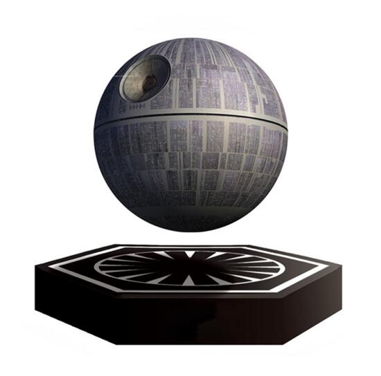 2016 Hot Bluetooth Speaker Wars Death Star Levitating Speaker Bluetooth Wireless Portable Floating Portable Magnetic Levitation(China (Mainland))