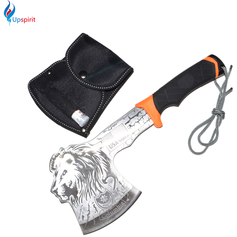 Free Shipping Sharp Edge Machete Tomahawk Axe Ax Daily Use Garden Tool Axe Camping Dedicated Tool Survival Axe With Nylon Sheath(China (Mainland))