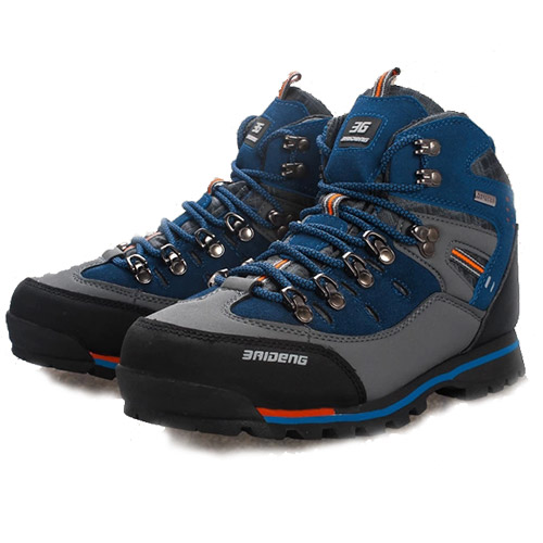 2015 new mens shoes brand hot sale anti-skid mountain climbing boots athletic shoes breathable outdoor hiking shoes(China (Mainland))