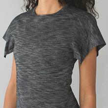 2016 new fitness short sleeved T-shirt female perspiration wicking dyed Dumbo sleeve(China (Mainland))