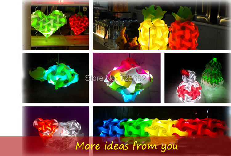 Novelty Lamp Crossword : DHL free jigsaw lights IQ puzzle lamps ball DIY modern novelty puzzle pendant lights fashion ...