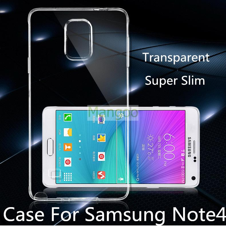 Note4 Ultra Thin Transparent Clear Soft TPU Case for Samsung Galaxy Note 4 N9100 Frosted Protective Mobile Phone bags cases(China (Mainland))