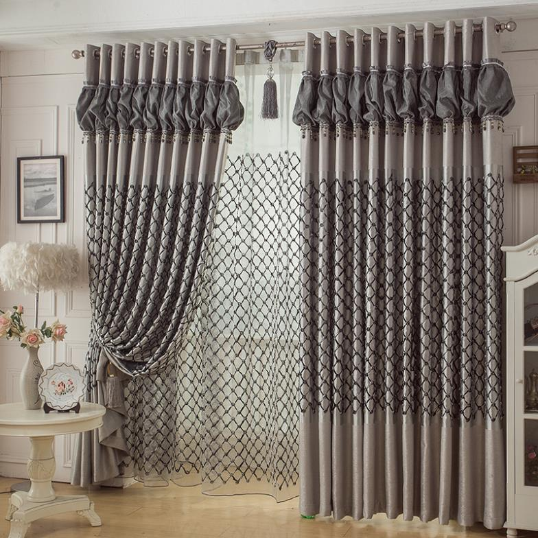 2015 rideaux cortinas sala curtains for home decor bedroom for Household design curtain road