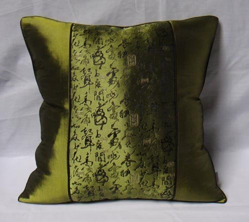 Ferr shipping home textile Style Chinese cushion Imitate silk cushion cover