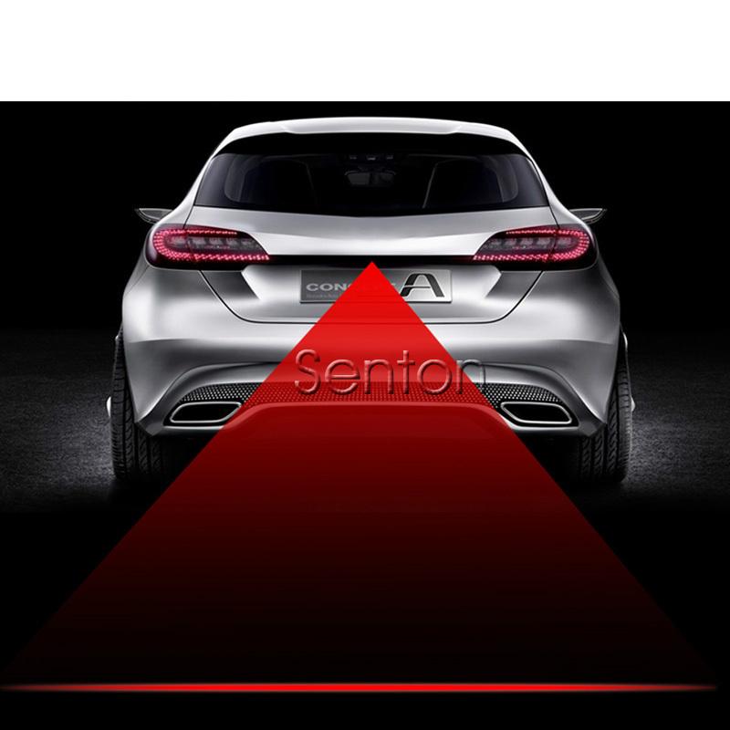 12V Car Red Laser Tail Fog Light LED For Peugeot 307 206 308 407 207 2008 3008 508 406 208 Citroen C4 C5 C3 C2 Accessories(China (Mainland))