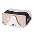 2017 New Light 3D Games Partner VR glasses MINI With Top Quality Lens 3D Virtual Reality