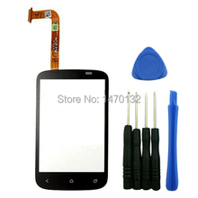Outer Front Touch Screen Digitizer Glass Panel Replacement for HTC Desire C A320e NFC Golf with tools
