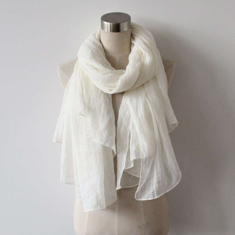 2014 New arrival 190*140cm vintage oversize scarf Cotton white wrap shawl high quality wholesale(China (Mainland))